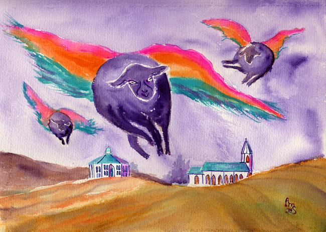 Bodega Flying Sheep