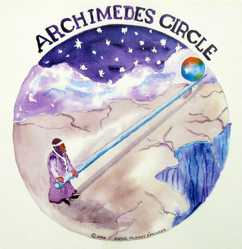 Archimedes Circle  - #574