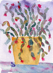 Holiday Cactus #3